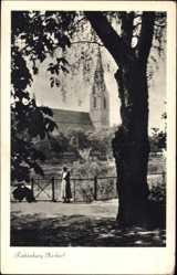 Postcard Rottenburg am Necker Baden Württemberg, Blick auf die Kirche