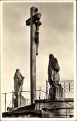 Postcard Hechingen im Zollernalbkreis, St. Luzern, Kreuzigungsgruppe