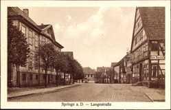 Postcard Springe am Deister, Hotel Ratskeller in der Langestraße