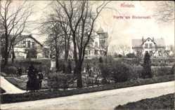 Postcard Rinteln an der Weser Kreis Schaumburg, Partie am Blumenwall