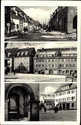 Postcard Freudenstadt im Nordschwarzwald, Reichsstraße, Promenadenplatz,Stuttgarterstr