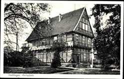 Postcard Stadthagen im Kreis Schaumburg, Ansicht der Amtspfortz