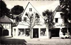 Postcard Tecklenburg in Nordrhein Westfalen, Marktplatz mit Legge