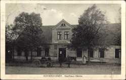 Ak Güntershagen Lubieszowo Pommern, Gasthaus Henke