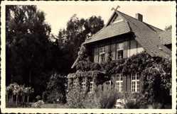Foto Ak Warin im Kreis Nordwestmecklenburg, Blick auf ein Wohnhaus