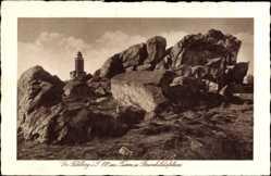 Postcard Schmitten im Hochtaunuskreis Hessen, Großer Feldberg, Brunhildisfelsen