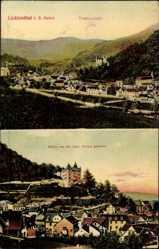 Postcard Lichtenthal Baden Baden im Stadtkreis Baden, Panorama von der kath. Kirche