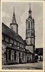 Postcard Villingen Schwenningen Schwarzwald, Blick auf Münster, Türme