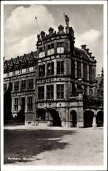 Postcard Arnhem Gelderland Niederlande, Blick auf das Rathaus