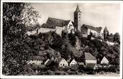 Postcard Kastl im Lauterbachthal, Teilansicht der Ortschaft mit Kirche