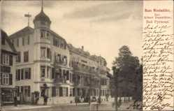 Postcard Bad Pyrmont in Niedersachsen, Haus Windmüller, Albert Damköhler
