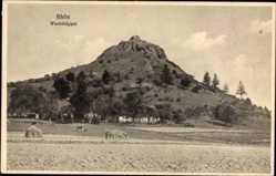 Postcard Gersfeld in der Rhön in Hessen, Blick auf den Wachtküppel