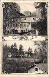 Postcard Burgbernheim in der Frankenhöhe Bayern, Blick auf das Wildbald