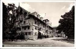 Postcard Schluchsee Schwarzwald, Blick auf Hotel Sternen