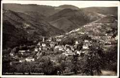 Postcard Oppenau im Schwarzwald, Gesamtansicht, Blick ins Tal