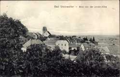 Postcard Gleisweiler im Kreis Südliche Weinstraße, Blick von der Linden Allee