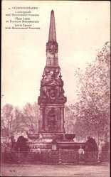 Postcard Ludwigshafen am Rhein Rheinland Pfalz, Ludwigplatz und Monumental Brunnen