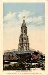 Postcard Delhi Indien, Mutiny Monument, Denkmal, Mutiny 1857 a.D.