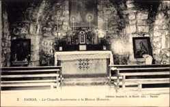 Postcard Damaskus Syrien, La Chapelle Souterraine à la Maison Hanania