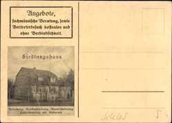 Ak Wrocław Breslau Schlesien, Siedlungshaus, Ruberoid Bedachung, Augustastr 178