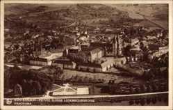 Postcard Echternach Luxemburg, Petite Suisse Luxembourgeoise, Panorama