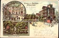 Litho Hannover in Niedersachsen, Kurhaus Eilenriede, H. Giesecke