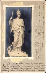 Passepartout Ak Vatikan Rom Lazio, Museo Vaticano, Minerva