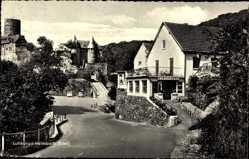 Postcard Heimbach in der Eifel, Straßenpartie am Haus Marienhöhe