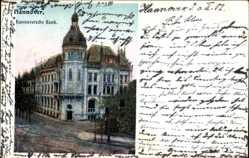 Postcard Hannover in Niedersachsen, Die Hannoversche Bank