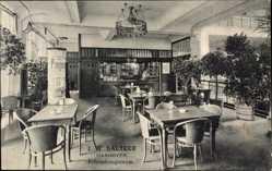 Postcard Hannover in Niedersachsen, J.W. Sältzer, Erfrischungsraum