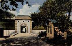 Postcard Germersheim in der Rheinebene Rheinland Pfalz, Weißenburger Tor