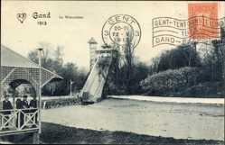 Ak Gent Ostflandern, Expo, Weltausstellung 1913, Le Waterchute, Wasserrutsche