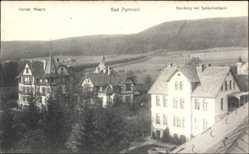 Postcard Bad Pyrmont in Niedersachsen, Christliches Hospiz, Bamberg mit Spelinkentum
