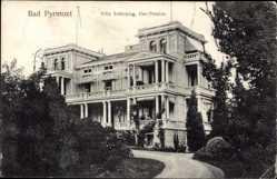 Postcard Bad Pyrmont in Niedersachsen, Villa Schücking, Kur Pension