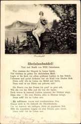 Lied Ak Burg Drachenfels, Rheinlandmädel, Willi Ostermann