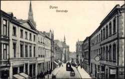 Postcard Düren in Nordrhein Westfalen, Blick in die Oberstraße