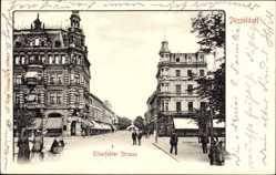 Postcard Düsseldorf am Rhein, Partie der Elberfelder Straße