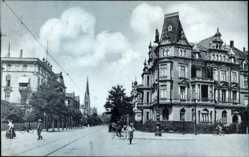 Postcard Hannover in Niedersachsen, Blick in die Bödekerstraße