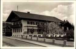 Postcard Bad Wiessee Tegernsee Oberbayern, Pension Seitz, Bes. Georg Seitz
