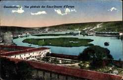 Postcard Konstantinopel Istanbul Türkei, Vue generale des Eaux Douces d'Europe
