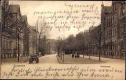 Postcard Osnabrück in Niedersachsen, Schlosswall, Kinder, Mann mit Handkarren