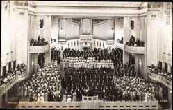 Foto Ak Görlitz in der Lausitz, Konzert zur Eröffnung der Stadthalle 27 10 1910