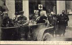 Ak Mme Macherez qui remplit les fonctions de maire de Soissons
