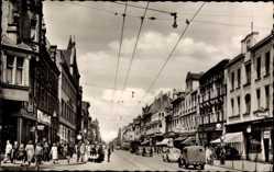 Postcard Herne im Ruhrgebiet Nordrhein Westfalen, Blick in die Bahnhofstraße