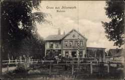 Postcard Ihlienworth im Kreis Cuxhaven, Blick auf die Meierei, Auffahrt