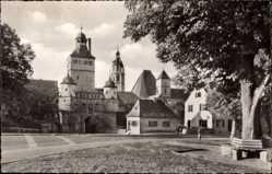 Postcard Weißenburg in Mittelfranken Bayern, Blick auf das Ellinger Tor