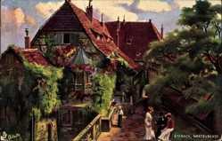 Künstler Ak Lutherstadt Eisenach in Thüringen, Wartburghof, Tuck 171 B