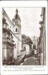 Postcard Vilnius Wilna Litauen, Kapelle unserer Lieben Frau zu Ostrobrama