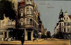 Postcard Wiesdorf Leverkusen in Nordrhein Westfalen, Hauptstraße, H. Wicke