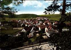 Postcard Roda im Burgwald Rosenthal, Stadtansicht, Gemischtwaren, Inh. H. Moll